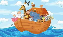 Festa Infantil Arca de Noé | Festabox