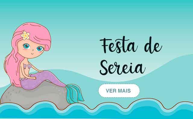 Festa Infantil Sereia   Festabox